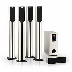 Auna Areal Elegance, 5.1kanálový systém, 190 W, RMS, BT, USB, SD, AUX
