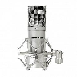 Auna Pro Kondenzátorový mikrofon auna Pro MIC-900S, USB, stříbrný