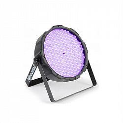 Beamz FlatPAR, 186 x 10mm, PAR reflektor, UV LED, DMX