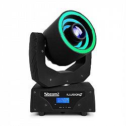 Beamz Illusion 2 LED kruh 3-v-1 SMD RGB LED bílá DMX/Standalone, černá