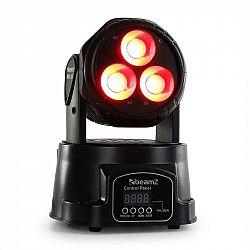Beamz MHL-45 DMX Mini, pohyblivá hlava, wash, 3x 15 W, COB LED, DMX