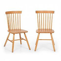 Besoa Fynn, set dřevěných židlí, buk, Windsor design, dřevo