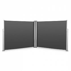 Blumfeldt Bari Doppio 616, dvojitá boční markýza, 6 x 1.6 m, hliník, antracitová