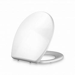 Blumfeldt Celesto, záchodová deska, tvar O, automatické sklápění, antibakteriální, bílá