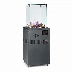 Blumfeldt Flagranti Crystal View, plynový ohřívač, 8 kW, ušlechtilá ocel
