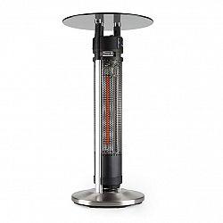 Blumfeldt Primal Heat 95, vysoký (barový) stůl, uhlíkové IR topné těleso, 1600 W LED, 95 cm, sklo