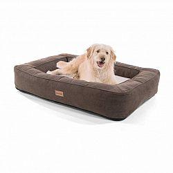 Brunolie Bruno, pelíšek pro psa, koš pro psa, možnost praní, ortopedický, protiskluzový, prodyšný, paměťová pěna, velikost L (100 × 17 × 70 cm)