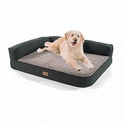 Brunolie Odin, pelíšek pro psa, psí podložka, pratelný, ortopedický, protiskluzový, prodyšný, paměťová pěna, velikost M (100 × 12 × 80 cm)