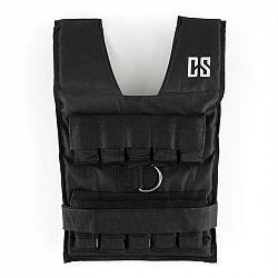 Capital Sports Monstervest, 20 kg, černá, zátěžová vesta, kovové závaží
