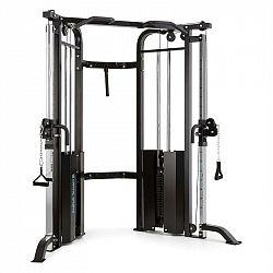 Capital Sports Xtrakter, 2 x 90kg, černá, posilovací přemostěná věž se dvěma kladkami, ocel