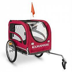 DURAMAXX King Rex, 250l, přívěs pro psa na kolo, ocelové trubky, 40 kg