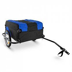 DURAMAXX Mountee závěsný vozík na kolo, 130 l, černo-modrý, ocelový rám