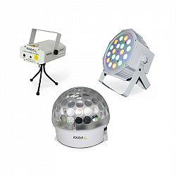 Ibiza BAT-KIT, sada světelných efektů, Astro efekt, Firefly laser, PAR reflektor