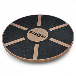 KLARFIT BRD2, balanční podložka, < 150 kg, průměr 37,5 cm, dřevo