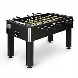 KLARFIT Maracanã, stolní fotbal, turnajové rozměry, míčky z přírodního korku, držák na nápoje, černá barva