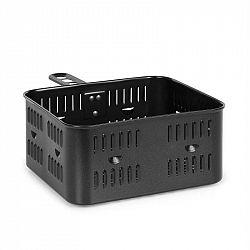 Klarstein AeroVital Cube Chef, horkovzdušná fritéza, fritovací koš, příslušenstvo, ušlechtilá ocel