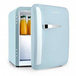 Klarstein Audrey, mini chladnička, EEC A+, mrazicí složka, LED, pastelově modrá