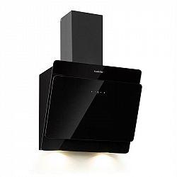 Klarstein Aurica 60, digestoř, 165 W, 3 stupně, 620 m³/h, LED, sklo, černý