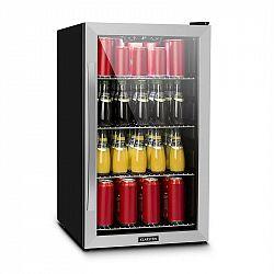 Klarstein Beersafe 4XL, chladnička, na nápoje, 124l, 0-10 ° C, sklo, A +, nerezová ocel
