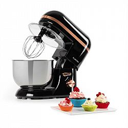 Klarstein Bella Elegance, kuchyňský robot, 1300 W, 1,7 HP, 6 stupňů, 5 litrů, černý