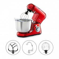 Klarstein Bella Pico 2G, kuchyňský robot, 1200 W, 1,6 HP, 6 stupňů, 5 litrů, červený