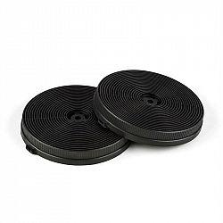 Klarstein Filtry s aktivním uhlím do digestoří, náhradní díl, 2 filtry, recirkulační režim, Ø 11.5 cm