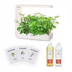 Klarstein GrowIt Cuisine Starter Kit Europa, 10 sazenic, 25 W LED, 2 l, Europe Seeds, živný roztok