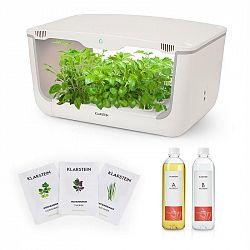 Klarstein GrowIt Farm Starter Kit Asia, 28 rostlin, 48 W, 8 l, semena Asia Seeds, živný roztok