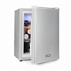 Klarstein Happy Hour 32, mini bar, 32 l, 5–15°C, EEC A+, tichý, 0 dB, LED světlo, stříbrný