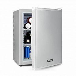 Klarstein Happy Hour 37, minibar, 37 l, 5–15°C, tichý, 0 dB, LED světlo, stříbrný