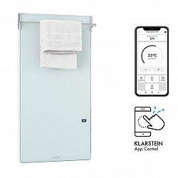 Klarstein Hot Spot Crystal Spotless Smart, infračervený ohřívač, 750 W, aplikace, bílý