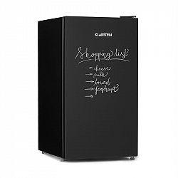 Klarstein Miro, lednice, popsatelná přední strana, 91 l, A+, složku na zeleninu, černá