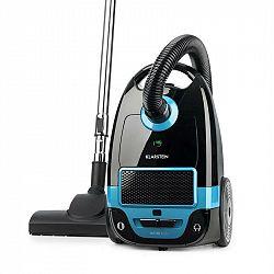 Klarstein Mister Eco, vysavač, 450 W, HEPA13, třída energetické účinnosti A++, černo/modrý