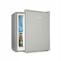 Klarstein Snoopy Eco, mini chladnička s mrazicím boxem, A++, 46 litrů, 41 dB, šedá