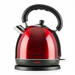 Klarstein Teatime vařič na vodu čajová konvice 1850 - 2200 W 1,8 l ušlechtilá ocel rubínově červená