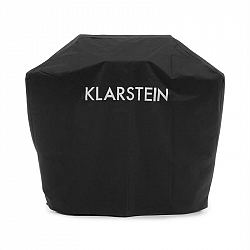 Klarstein Tomahawk 4.2 Cover, ochranný kryt na plynový gril, 600D plátno, 30/70 % PE/PVC, černý