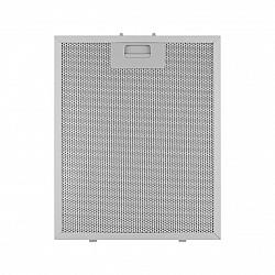 Klarstein Tukový filtr do digestoří, 26x32 cm, náhradní filtr, příslušenství, hliník
