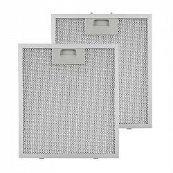 Klarstein tukový filtr, náhradní filtr, hliník, 25,8x29,8 cm, 2 kusy, příslušenství