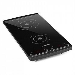 Klarstein VariCook Slim indukční varná deska, 2 varné desky, 2900W, 60-240 ° C, černá barva