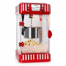 Klarstein Volcano červený, stroj na popcorn 300 W, míchadlo, nádoba z nerezu