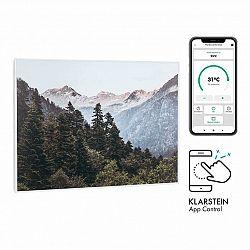 Klarstein Wonderwall Air Art Smart, infračervený ohrievač, 80 x 60 cm, 500 W, aplkace, hora