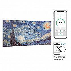 Klarstein Wonderwall Air Art Smart, infračervený ohřívač, 120 x 60 cm, 700 W, aplikace, hvězdy