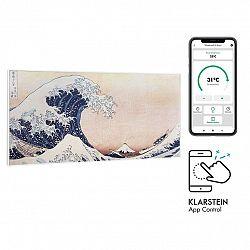 Klarstein Wonderwall Air Art Smart, infračervený ohřívač, 120 x 60 cm, 700 W, aplikace, vlny