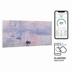 Klarstein Wonderwall Air Art Smart, infračervený ohřívač, 120 x 60 cm, 700 W, aplikace, východ slunce