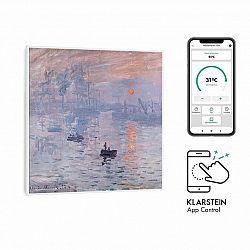 Klarstein Wonderwall Air Art Smart, infračervený ohřívač, 60 x 60 cm, 350 W, aplikace, východ slunce