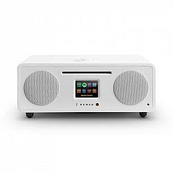 Numan Two, bílé, 2.1 internetové rádio, CD, 30 W, USB, bluetooth, Spotify Connect, DAB +