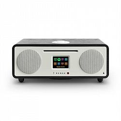 Numan Two, dub, 2.1 internetové rádio, CD, 30 W, USB, bluetooth, Spotify Connect, DAB +, černý dub