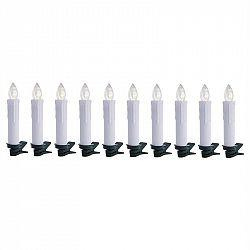 OneConcept Eternal Flame 10 LED vánočních světýlek, teplá bílá, dálkové ovládání