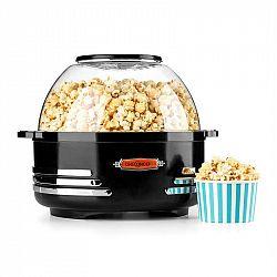 OneConcept Klarstein Couchpotato, černý, popcornovač, elektrické zařízení na přípravu popcornu