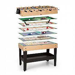 OneConcept neConcept Game-Star, herní stůl s 37 hrami, multiherní, odkládací složka, MDF